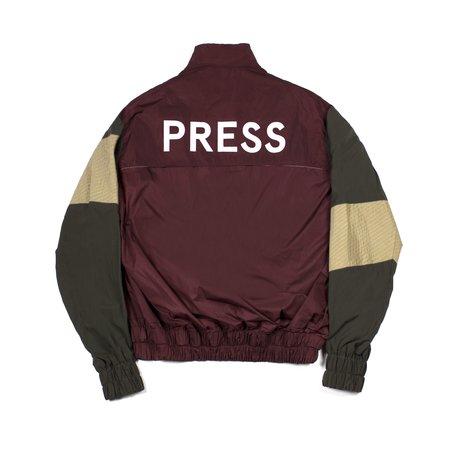 M Press Press Windbreaker - Burg