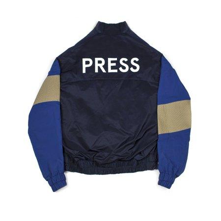 M Press Press Windbreaker - Blue