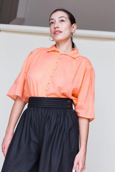 ACCIDENTE CON FLORES Irene Blouse - orange