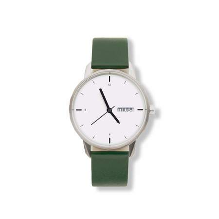 Tinker Watches 38mm Standard Strap Watch - Silver