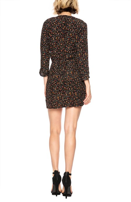 Faithfull The Brand Greta Button Dress