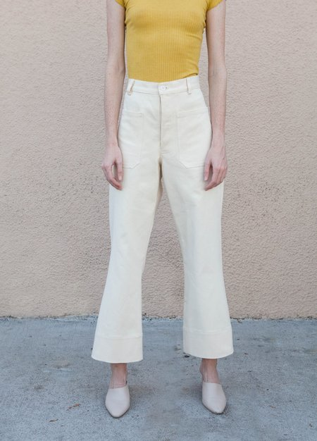 Sasha Darling Sailor Jean Pants - NATURAL