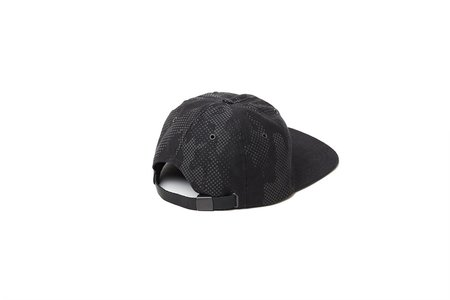 Nordet 6 Panels Reflective Camo Hat - Black