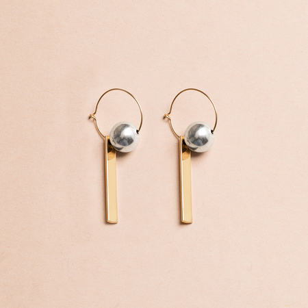 HIGHLOW JEWELRY Reconstruct Earrings - Composition 2