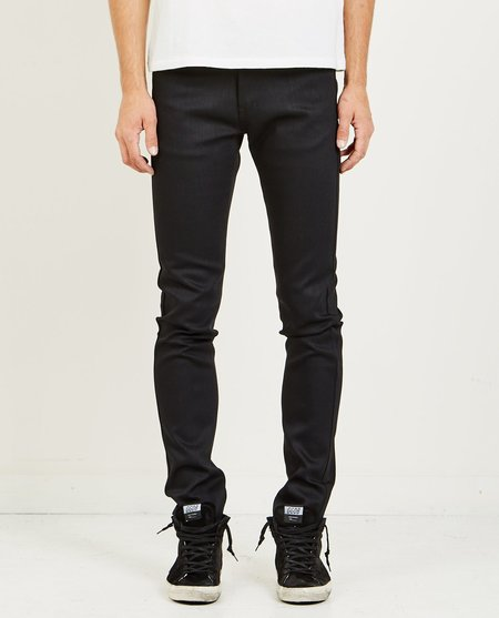 Naked & Famous SUPER SKINNY GUY POWER STRETCH JEAN - BLACK