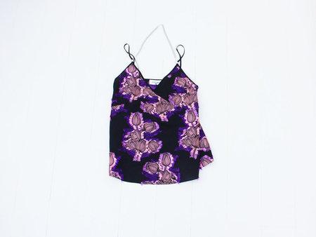Of Her Own Kind Valentina Camisole - Black Floral