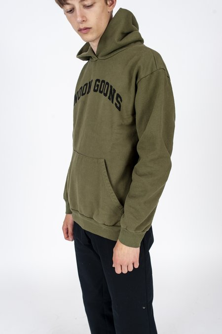 Noon Goons Varsity Hoodie - Army Green