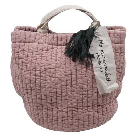 Tambere Quilted Bag With Tassel - Indi Pink