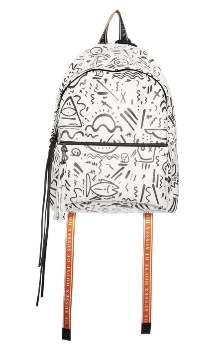 House Of Sussex Louis Carreon ISOT Leather Backpack