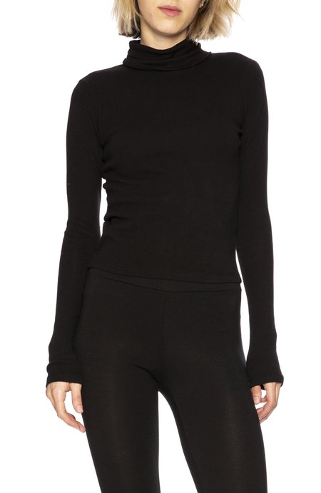 Stateside Turtle Neck Crop Top