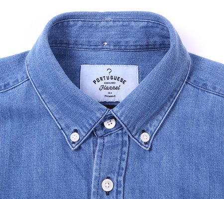 Portuguese Flannel Ganga 2-Wash Denim Shirt