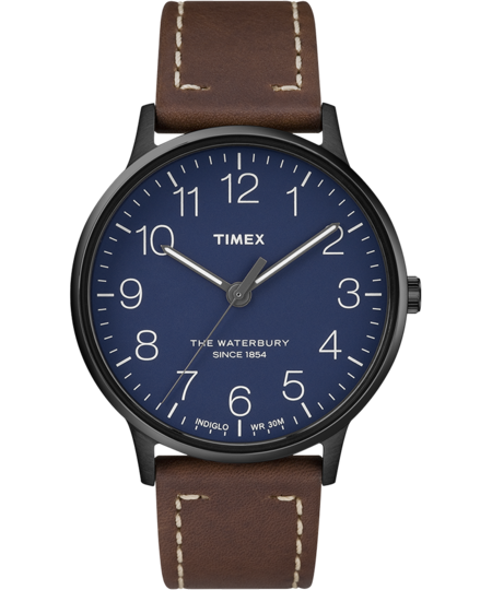 Timex Archive Waterbury Classic 40mm Watch - Brown
