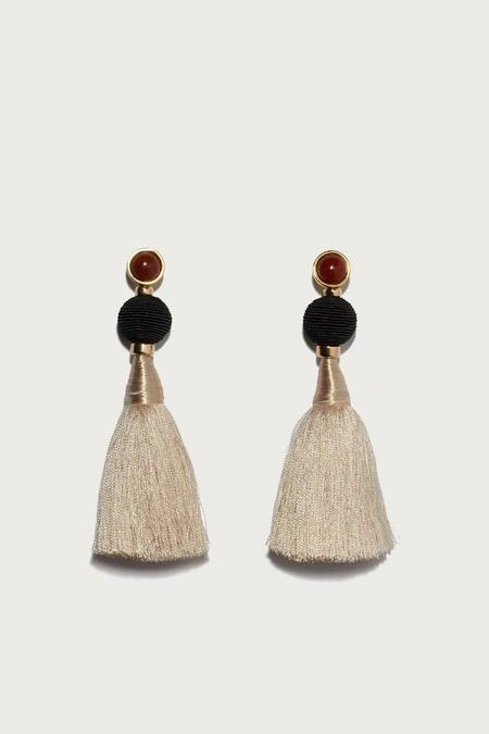 Lizzie Fortunato Puglia Fringe Earrings