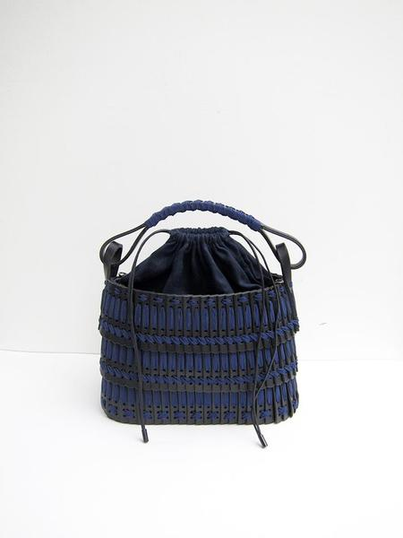Hatori Basket Bag - Black/Navy