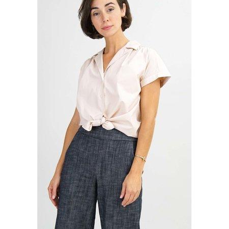 Amy Kuschel Knot Everyday Shirt - Blush