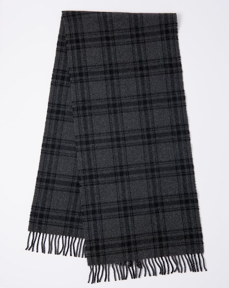 A.P.C. Hercule Scarf - Anthracite