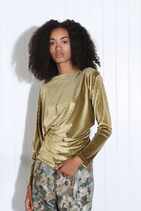Rachel Comey Haven Top - Gold