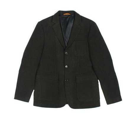 AFIELD Denver 3-Button Jacket - Green Wool