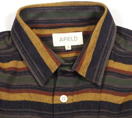 Far Afield Pocket Popover L/S Shirt  - Flannel Stripe