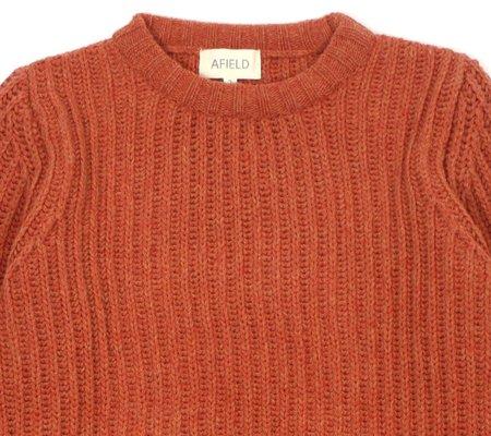 Far Afield Tanner Ribbed Knit  - Brown Patina