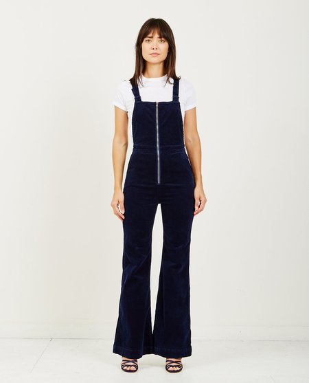Rollas EAST COAST FLARE OVERALL - MIDNIGHT CORD