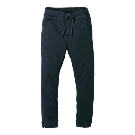 KIDS Finger In The Nose Baby And Child Longbeach Woven Jogging Pants - Super Navy