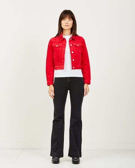 Rollas RUNAWAY CORD JACKET - RED
