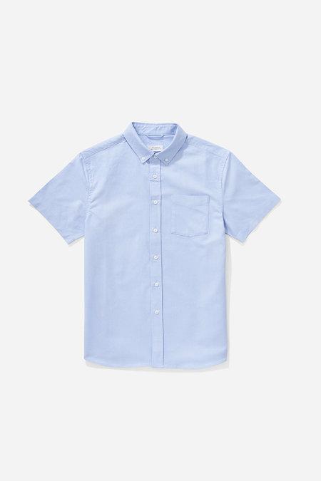 Saturdays NYC Esquina Oxford Button Down Shirt - Blue