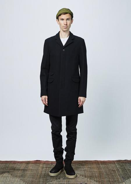 Homecore Leeds Wool Coat - dark navy