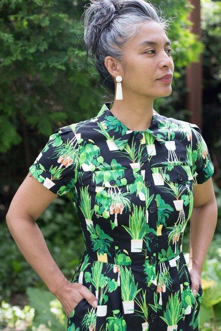 Birds of North America Ptarmigan Dress - Solarium