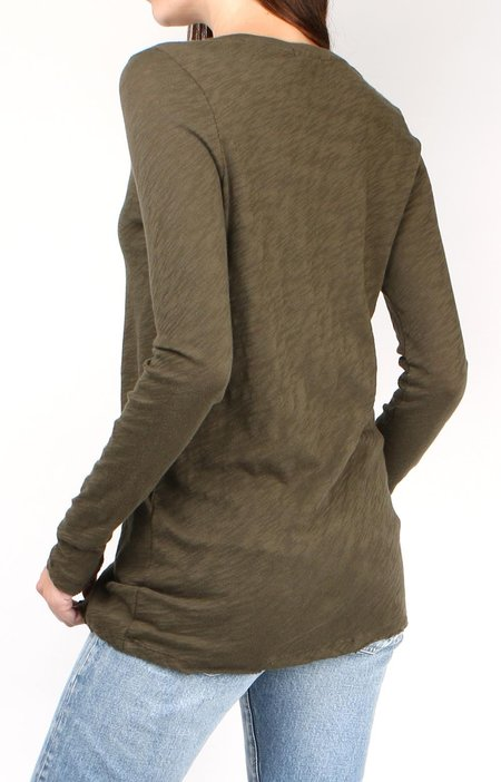 ATM long sleeve Destroyed Crew - Pine