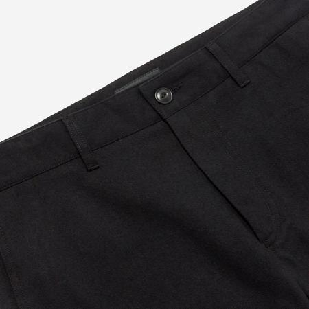 Outclass Attire Brushed Twill Chino Pants - Black