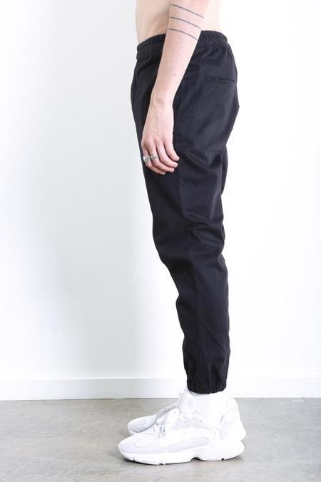 Gustav Von Aschenbach Washed Cotton Pant - Black