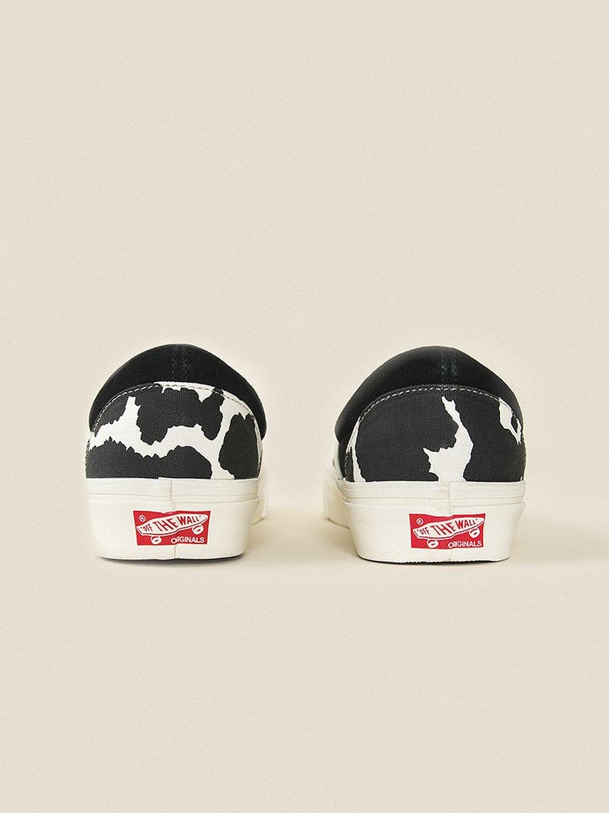 VANS VAULT OG Classic Slip On LX - Cow Black  9628e8a2b