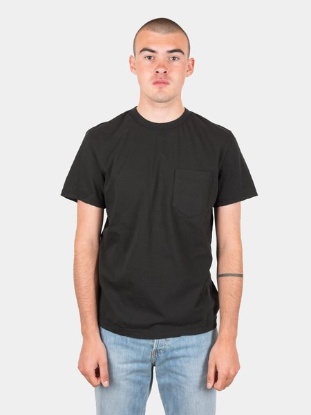 Homespun Dad's Pocket Tee - Aged Black