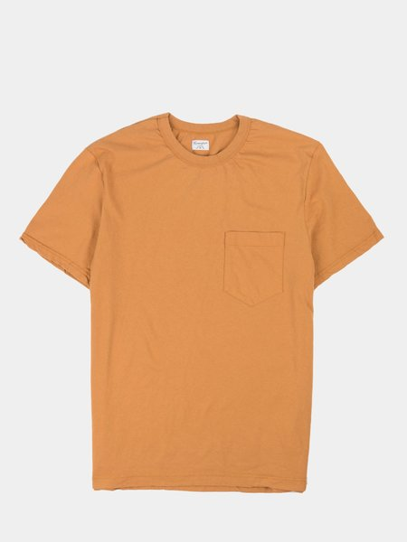 Homespun Dad's Pocket Tee - Tobacco