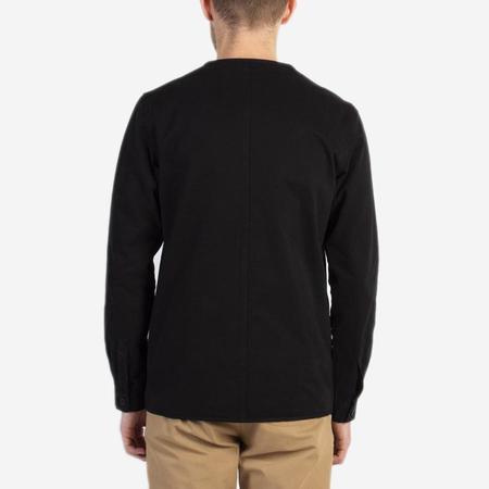 Kestin Hare Neist Collarless Overshirt - Black