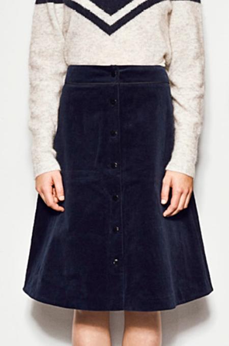Just Female Ludvine Skirt - Sapphire
