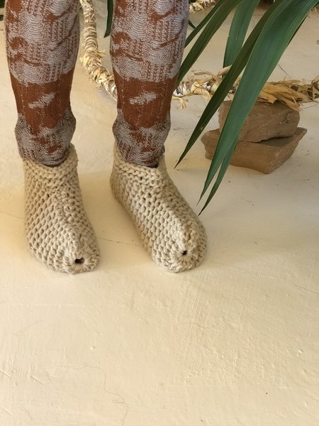Unisex Chilote Feet Slippers