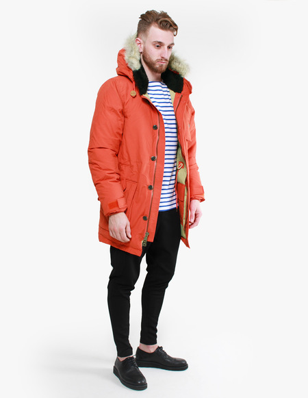 Penfield Hartland Down Expedition Parka - Safety Orange