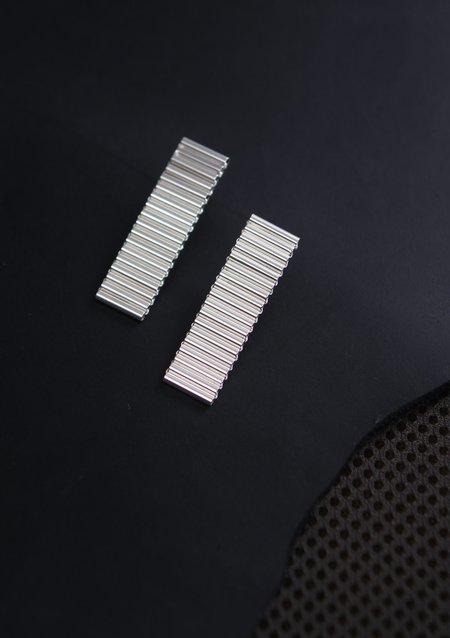 Karla Olsakova Organic Drop Earring - Silver