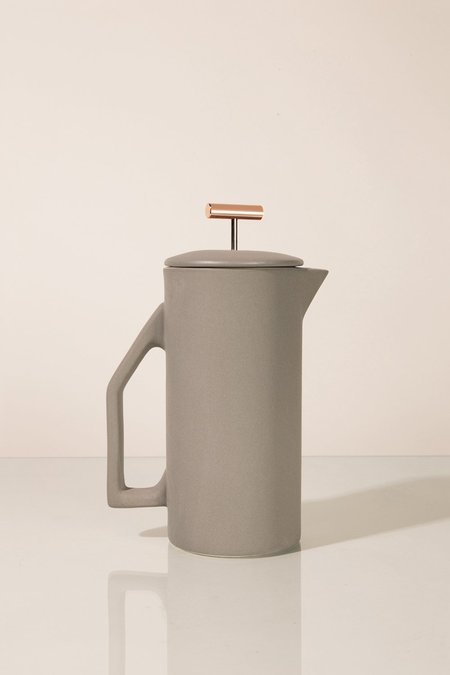 Yield 850 ml Ceramic French Press - Matte Grey