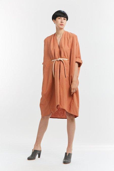 Miranda Bennett Linen O'Keeffe Dress - Sonora