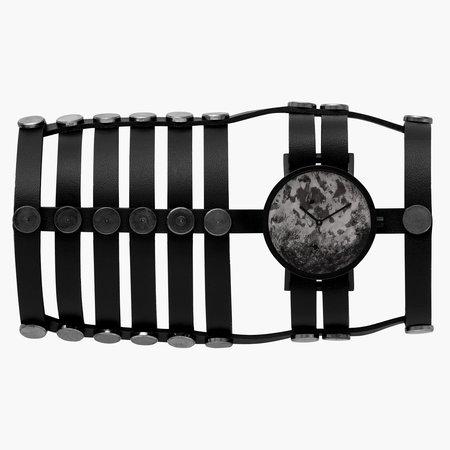 South Lane + Aumorfia Collaboration Triple Distinguished Watch - Black