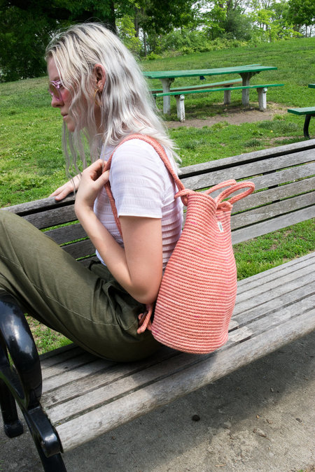 The Northern Market Backpack - Pink