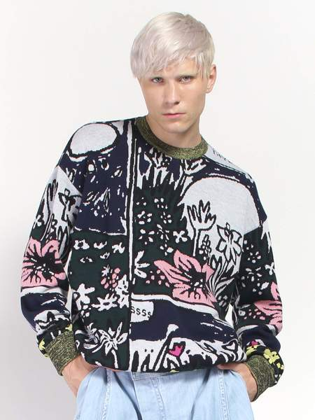 Anntian Flowers Sweater