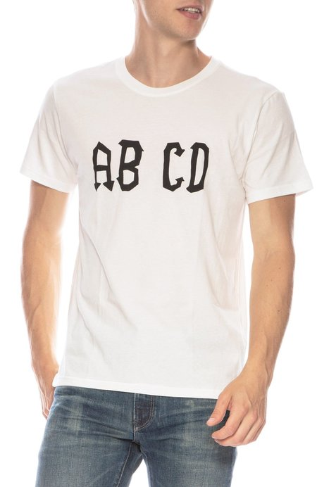 THE ART OF SCRIBBLE ABCD Sun Tech T-Shirt - IVORY