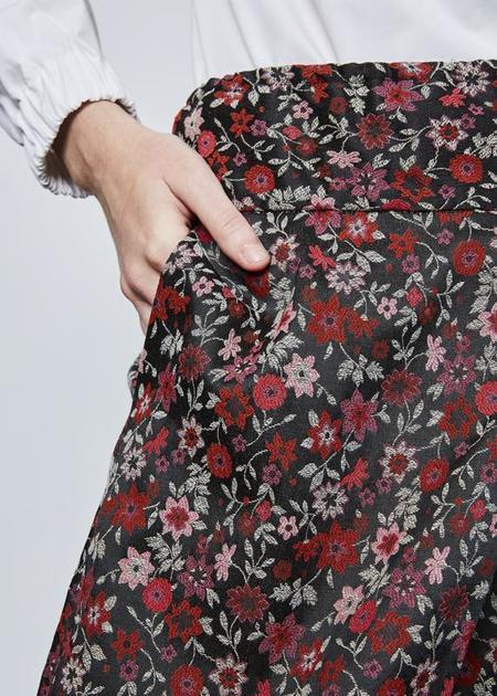 Echappees Belles Eve Floral Skirt - pink/multi