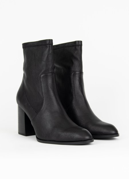 """""""INTENTIONALLY __________."""" Janet Booties - Black"""