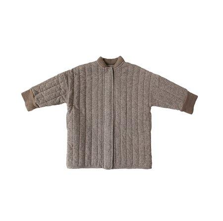 Kids Tambere Vertical Quilted Coat - Mocha